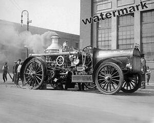 Photograph-New-York-Fire-Department-Vintage-Steam-Pumper-Demo-11x14