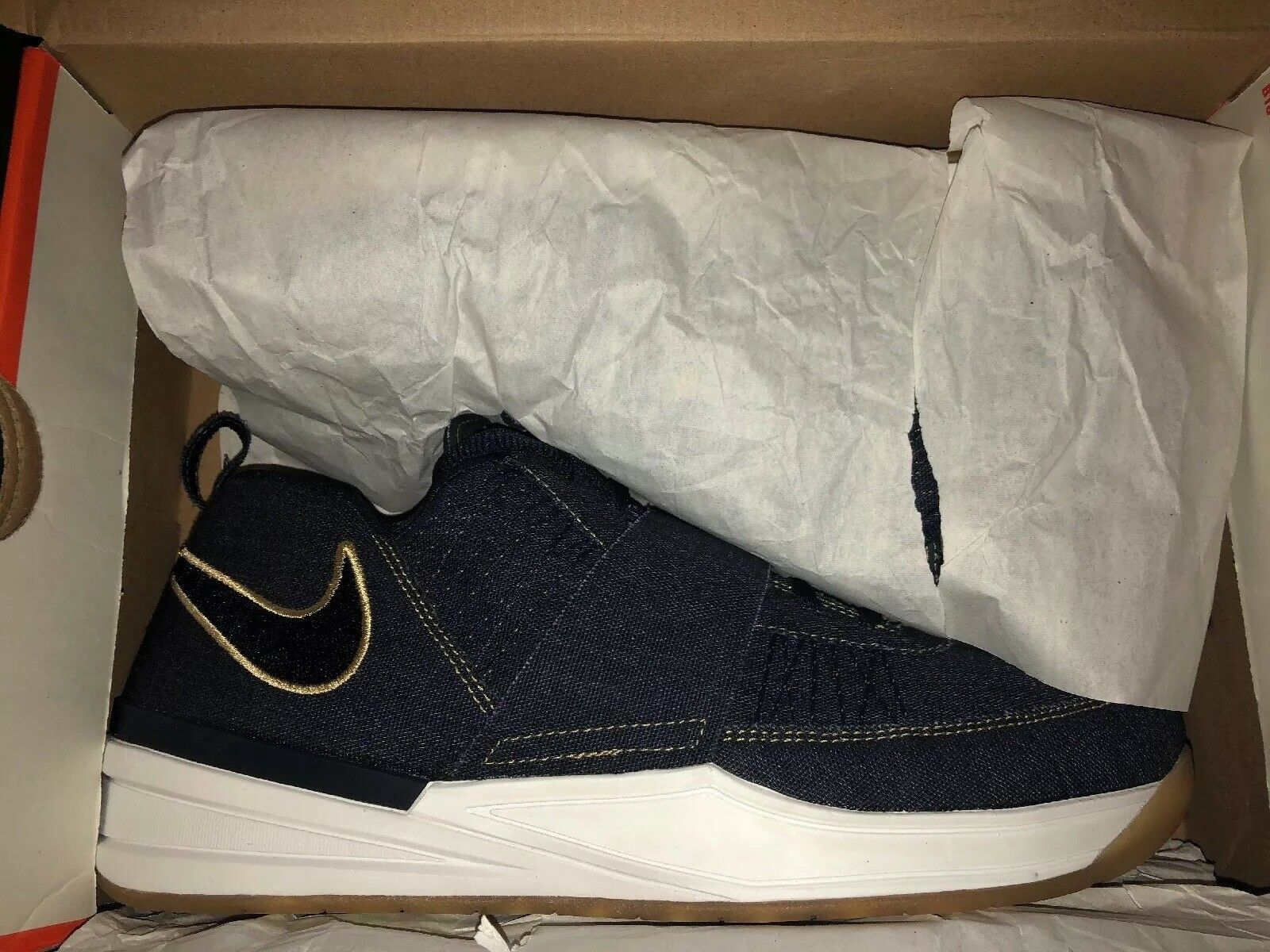 Nike Zoom Revis LE Denim Size 10.5. 623978-400. of 224 pairs made.
