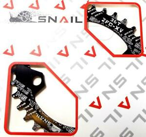 8 9 10 11 SPEED SNAIL ZFC-XD 36T RED ALLOY 104BCD NARROW WIDE N//W CHAINRING