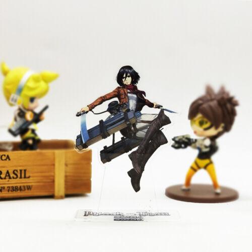Attack on Titan Shingeki no Kyojin Mikasa Ackerman acrylic stand figure toy