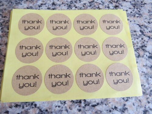 Vi ringrazio ADESIVO ETICHETTE Sigilli Craft Bomboniere Decorazioni Per scelta di adesivi