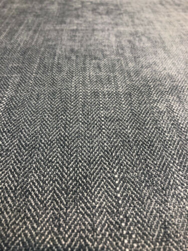 Freddie Dark Metal Soft Chenille Upholstery Italian cut Fabric by the yard