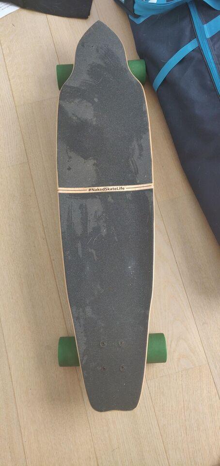 Longboard, naked skate life