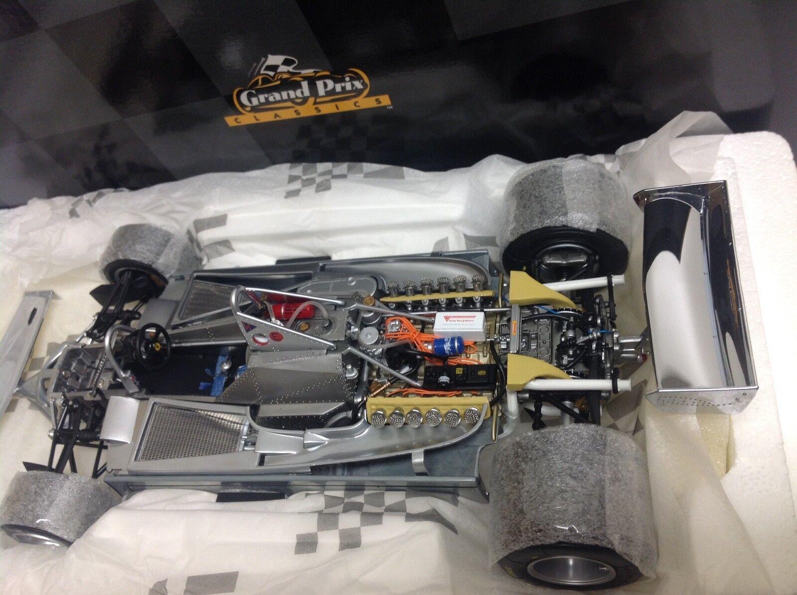 Exoto ferrari 312 t4 villeneuve scheckter 50 aluminio cromo 1979 1 18 nuevo 97079