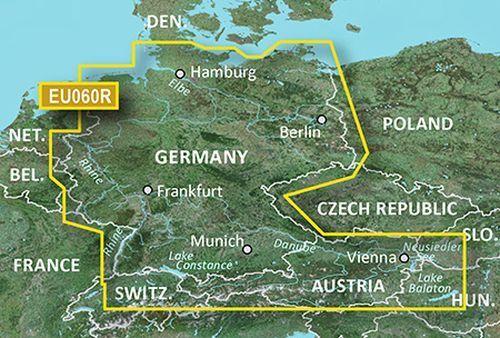 Garmin BlauChart G2 Vision - VEU060R - Germany Inland Waters v2017