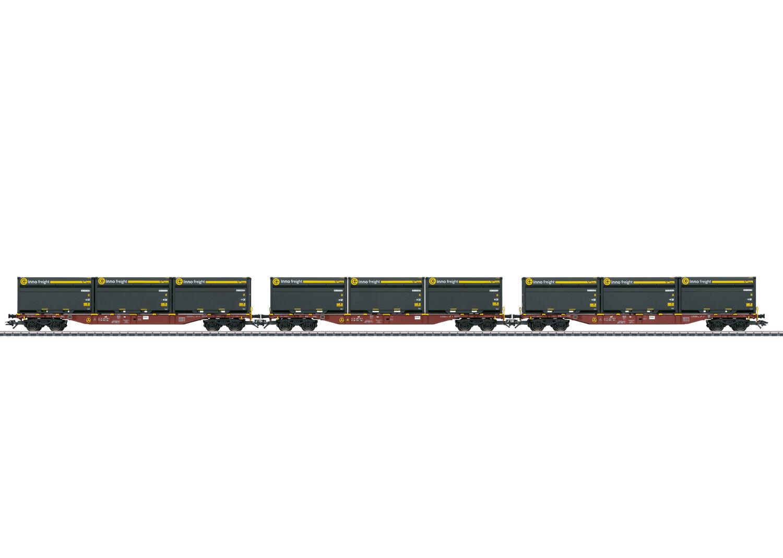 47090 carro carico-Set sandzug INNOFREIGHT delle DB AG 3 pezzi  neu in OVP