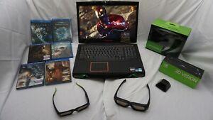 Rare-Alienware-M17X-R4-3D-Laptop-w-built-in-NVidia-3D-Vision-2-IR-Kit-Bundle