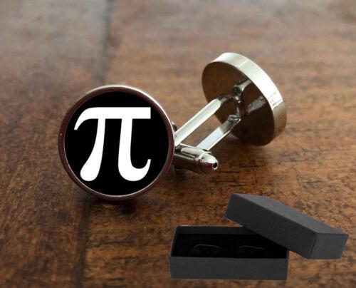 Pi matemáticas Símbolo Gemelos 3D Lente de vidrio-Maestro-Regalo Boda Cumpleaños