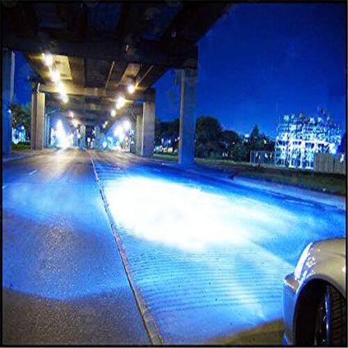 H7 H11 Ice Blue LED Headlight Bulbs Kit High Low Beam Total 144W 16000LM 8000K