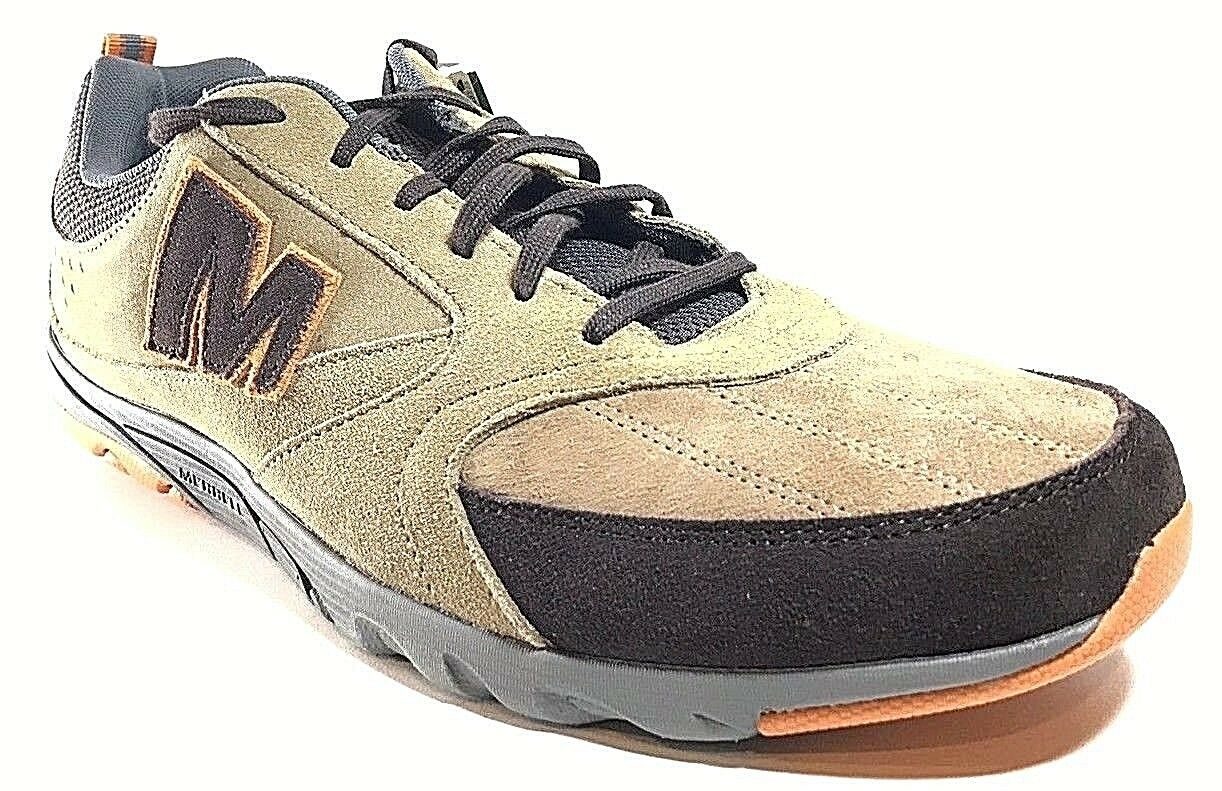Merrell Octane Men's Suede shoes Tan- Brown Size 11.5
