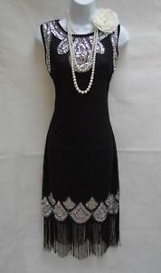 1920-039-S-GATSBY-VINTAGE-CHARLESTON-SEQUIN-TASSEL-FLAPPER-DRESS-SIZES-10-12-14-16