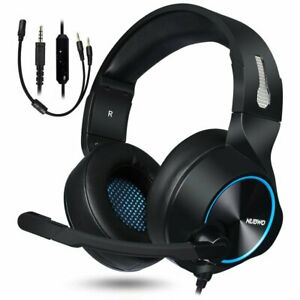 Cascos Gaming PS4 Audifonos Auriculares Gamer PC Xbox One Gaming...