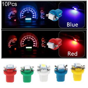 10Pcs-B8-5D-509T-B8-5-5050-Led-1-SMD-T5-Lamp-Dashboard-Light-Wedge-Interior-Lamp