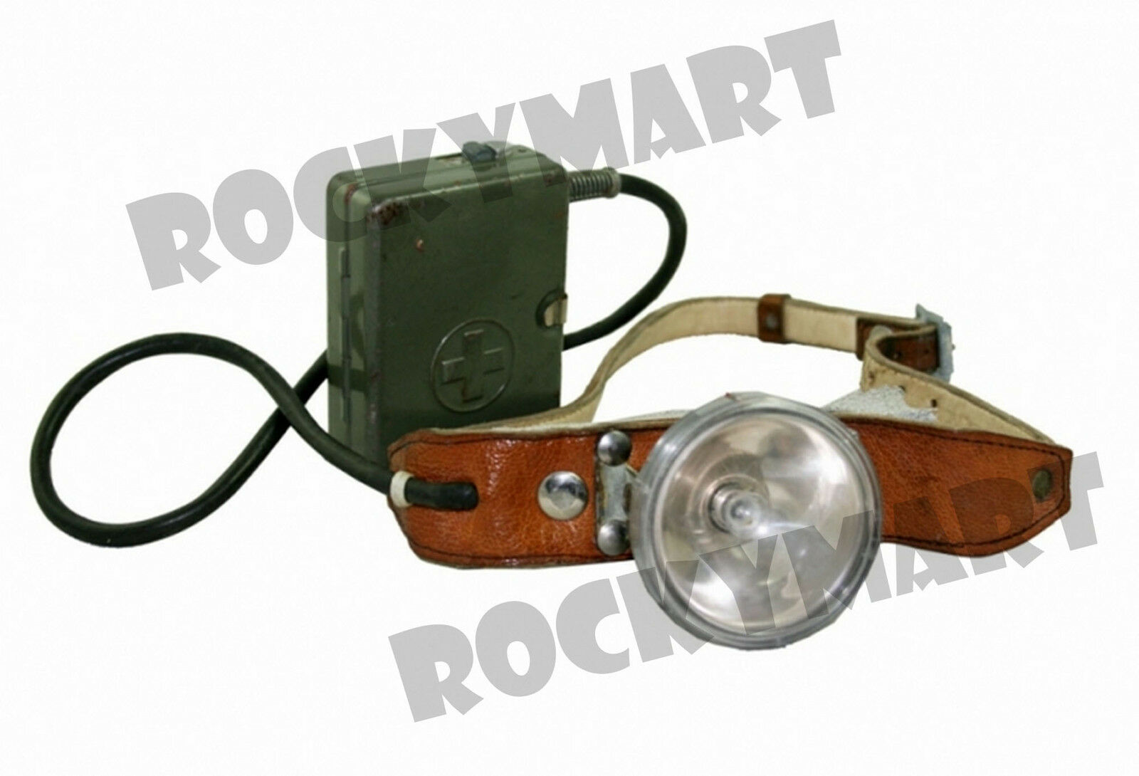 Swiss ANTIQUE HEADLAMP Adjustable (Battery not included) RM2940