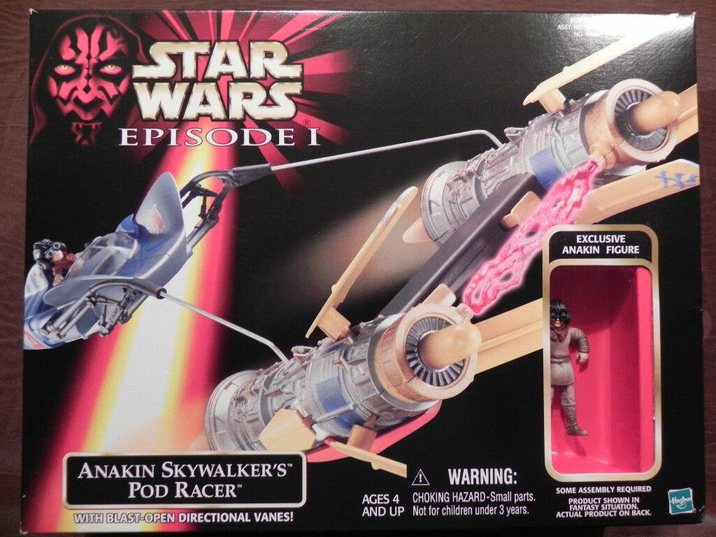 Estrella Wars episodio 1-Anakin Skywalker Pod Racer's  Nuevo En Caja Sellada De 1998