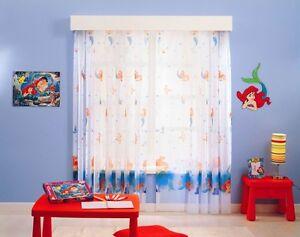 Tende Per Bambini Disney : Kinderzimmer gardine disney arielle die meerjungfrau alle maße auf