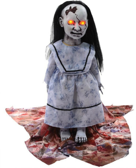 HALLOWEEN Animatronic ANIMATED LUNGING BABY HAUNTED HOUSE  PROP DECOR-JUMPS