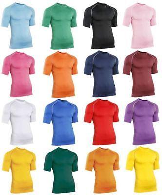 Activewear Tops Constructive Herren Rhino Baselayer Oberteil Erwachsene Kurzärmelig Sport Kompression Top Products Are Sold Without Limitations Men's Clothing