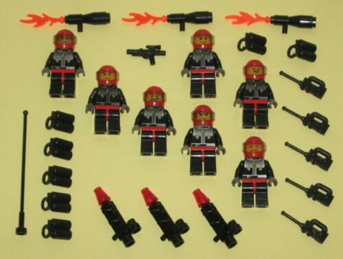 LEGO Minifigures 7 Space Marines Blasters Army Weapons Lego Minifigs Guys Halo