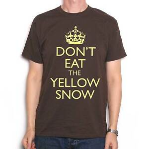 A-Tribute-To-Frank-Zappa-T-Shirt-Don-039-t-Eat-The-Yellow-Snow-Information-Poster