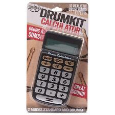 DRUM CALCULATOR - Drum Machine Desktop Drum Kit - Sound Generating Novelty