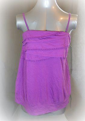 Lane Bryant strapless Lace Trim Tube Top cami Tank Shirt 16 pink w straps