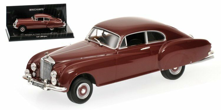 BENTLEY R-TYPE Continental 1955 Red 436139422 Minichamps 1 43 new in a box