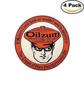 Oilzum-Motor-Oil-Vintage-Decal-Diecut-Sticker-4-Stickers