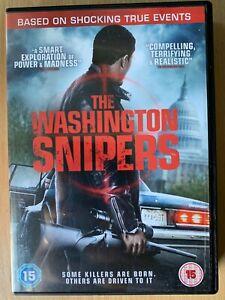 Washington-Tireurs-D-039-Elite-DVD-2013-Bleu-Caprice-True-Vie-Crime-Film-Drame