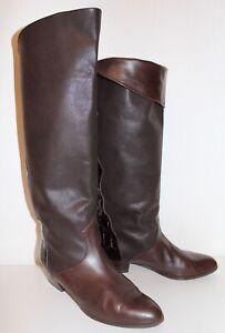 80s Zu Details Cognac 80er Vtg Leder Slouch Boots 40 Leather Stiefel True Brunella Vintage K1lFJc