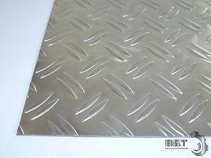 Guenstige-Reststuecke-Aluminium-Riffelblech-Staerke-waehlbar-Blech
