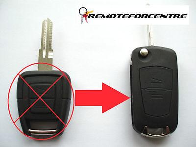 2 Button Flip Key Case Upgrade For Vauxhall Opel Astra G Zafira Remote Fob Ym28 Goede Metgezellen Voor Kinderen Evenals Volwassenen