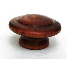 Gorgeous Maple Knob Wood Antique Drawer Pulls Vintage Mushroom Furniture Parts