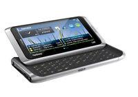Nokia E7-00 Silver White Silver White Qwerty Keyboard E7 Without Simlock
