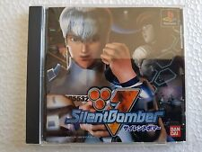PSX SONY PLAYSTATION JAP NTSC SILENT BOMBER - BANDAI - NO SPINE