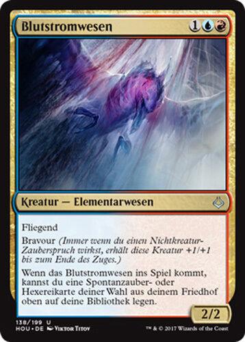 Hour of Devastation Magic 2x Blutstromwesen Bloodwater Entity