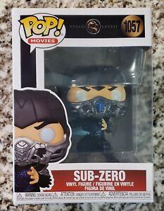 Funko Pop! Movies- Sub Zero Mortal Kombat #1057 Brand New