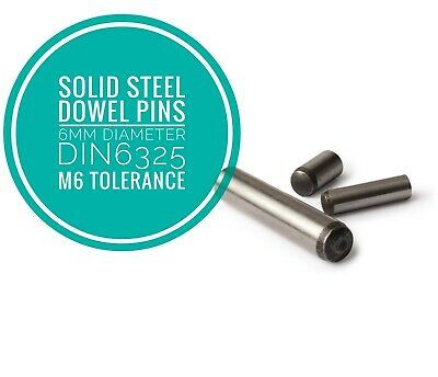 5mm x 16mm HARDENED /& GROUND DOWELS TO DIN 6325 QTY 10 FREE P/&P