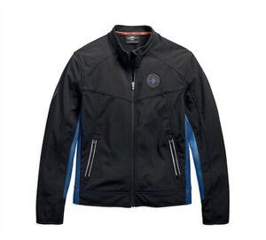 Harley 19vm davidson Shell 97505 Jacket Soft Large Casual Logo Homme wnwvqRpagH
