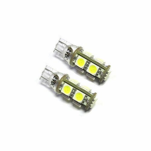2x LED 501 T10 White 9x 5050 SMD To Fit Side Light Toyota Avensis ZRT27 ADT27