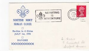Boy Scouts Scottish Scout Slogan Cancel Scouting Is Adventure Dundee