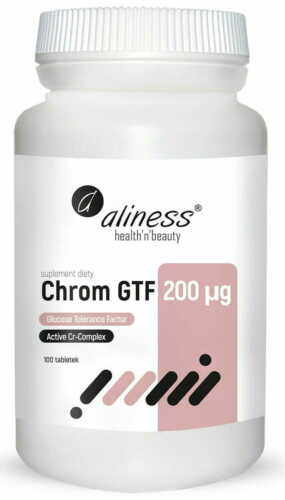 100 Tabletten Hefe-Chrom ALINESS Chrom GTF Active Cr-Complex 200mcg