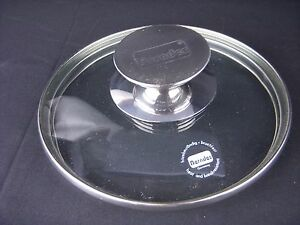 Berndes 16cm 6 Clear Glass Lid Pyrex Professional