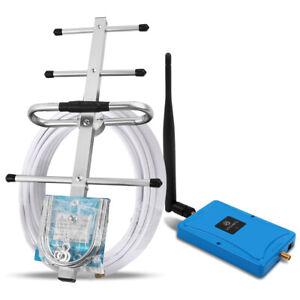 4G LTE 800MHz Band 20 70dB Handy-Signalverstärker Repeater Set Daten Stimme