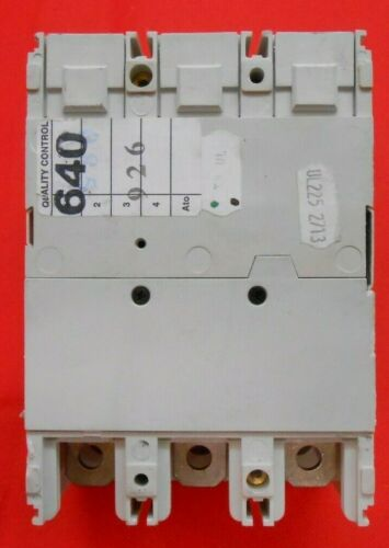 RECON//TESTED ABB T3N225TW CIRCUIT BREAKER 480 v 225 A 3P