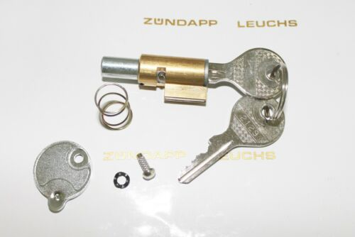 Zündapp Lenkschloss Lenkradschloss 7 teilig 8 mm Rundbolzen KS 50 WC TT Typ 530