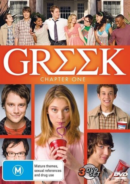 Greek : Chapter 1 (DVD, 2009, 3-Disc Set) PERFECT CONDITION....R 4