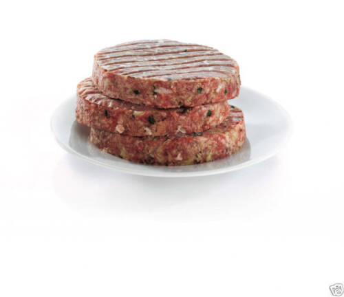 Kitchencraft Fish cake Boeuf//Bean//Veggie Hamburger Maker Kit 100 Cire Disques-BBQ