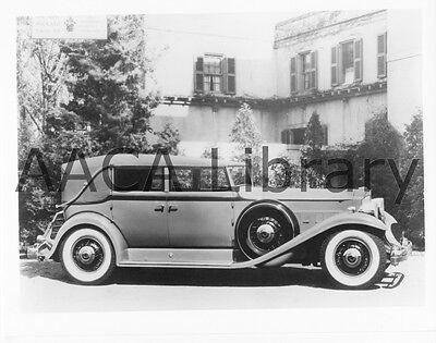 1934 Packard Twelve 4 Door Convertible Factory Photo Ref. #61725 Picture