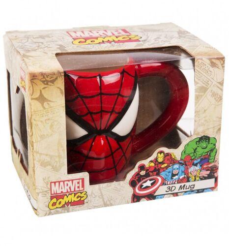 MARVEL COMICS-SPIDER-MAN Tazza 3D In Confezione Regalo-Nuovo di Zecca Grande Regalo